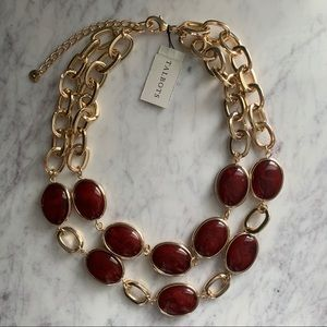 ✨NWT Talbots Double Strand Layered Necklace 🎁